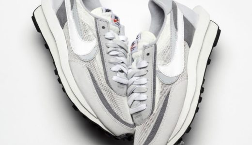 "【SACAI × Nike】LDWaffle ""Summit White""が9月12日に発売予定"