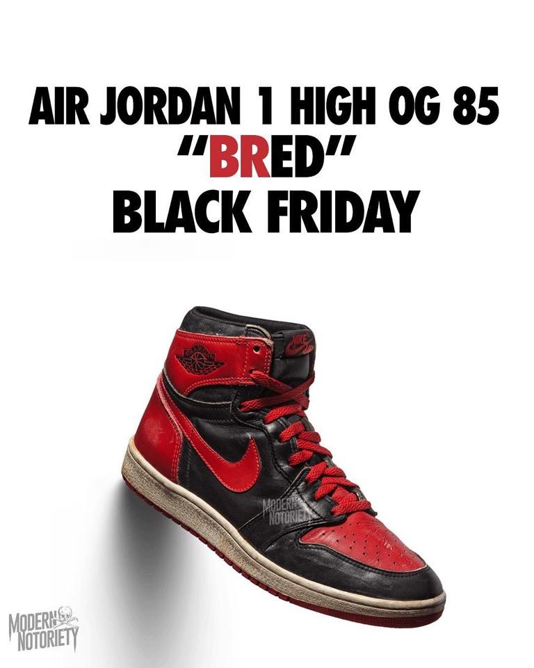 """Nike】Air Jordan 1 High OG """"Bred""""が"""