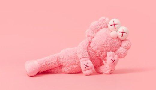 【KAWS】ピンクカラーの新作BFF Plushが4月9日に発売予定