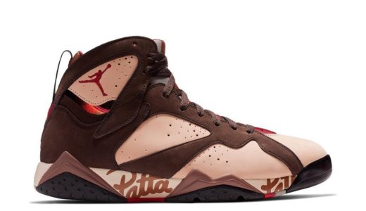 【Patta × Nike】Air Jordan 7 Retro OG SPが2019年6月に発売予定