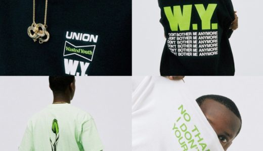 【Union × Wasted Youth】VERDYデザインのコラボアイテムが4月25日に発売予定