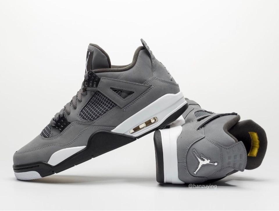 """Nike】Air Jordan 4 Retro """"Cool Grey"""" が"""