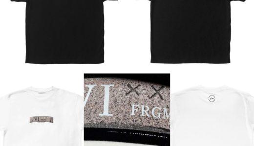 【fragment design × GOD SELECTION XXX】6周年記念コラボTシャツの受注生産を24時間限定で受付中