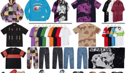 【Supreme × Clarks】2019SS WEEK14 国内6月1日(土)に発売予定 全商品一覧 価格など