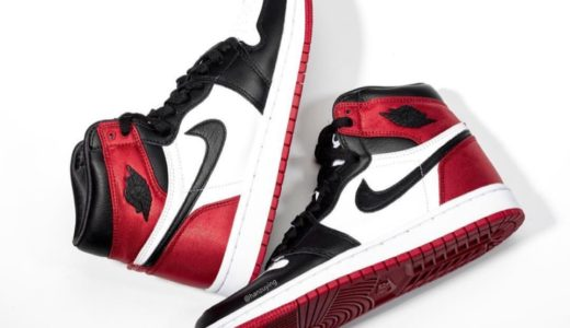 "【Nike】Air Jordan 1 Retro High OG ""Satin Black Toe""が国内9月21日に発売予定"
