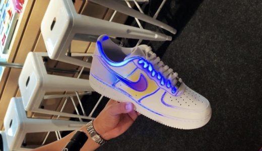 【Nike】ブラックライトの紫外線に発光するAir Force 1 Lowが発売予定か
