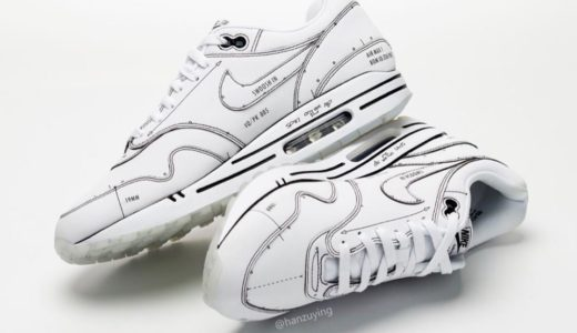 "【Nike】Air Max 1 Tinker ""Sketch to Shelf"" Whiteが国内7月13日に発売予定"