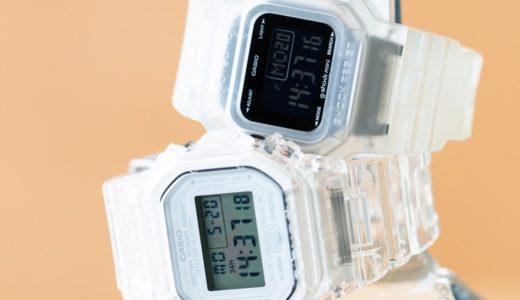 【BEAMS × G-SHOCK】スケルトン仕様の別注腕時計2型が6月21日に発売予定
