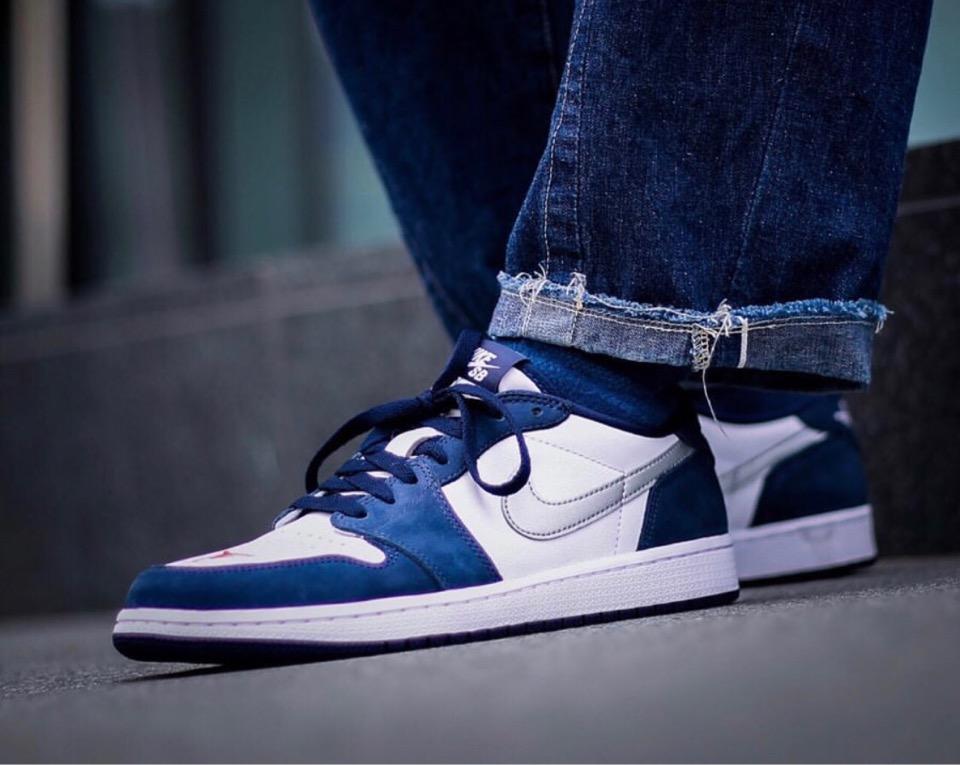 Nike SB × JORDAN BRAND】Air Jordan 1 Low