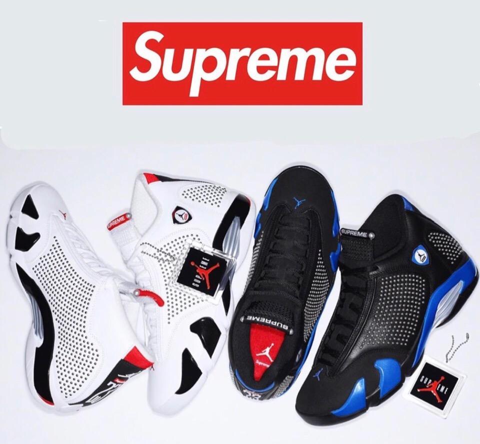 Nike × Supreme】コラボAir Jordan 14が国内