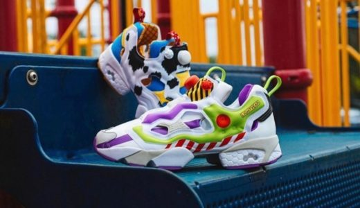 "【TOY STORY × Reebok × BAIT】INSTAPUMP FURY OG ""BUZZ and WOODY""が国内6月17日に発売予定"