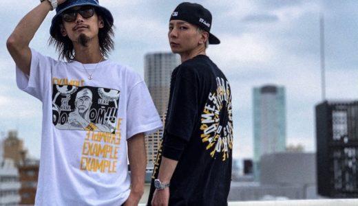 【EXAMPLE × ONE PIECE】夢のコラボTシャツが6月22日/6月29日/6月30日に発売予定
