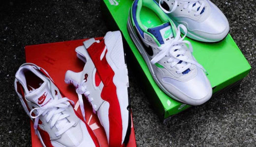 "【Nike】Air Max 1 & Air Huarache ""DNA CH.1 Pack""が6月14日に発売予定"