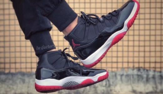 "【Nike】Air Jordan 11 Retro ""Bred""が2019年12月14日に復刻発売予定"
