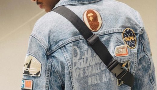 【A BATHING APE®】DENIM COLLECTIONが7月20日に発売予定