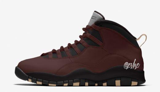 【Nike × SoleFly】Air Jordan 10 Retro SFが2019年12月に発売予定