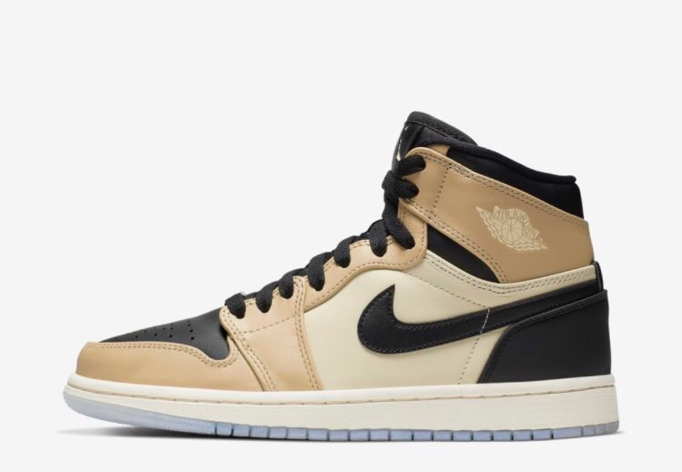 "Nike】Air Jordan 1 Retro Hi Prem ""Fossil"