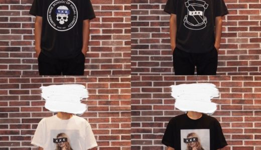 【GOD SELECTION XXX × NUMBER (N)INE】最新コラボTシャツが7月27日に発売予定