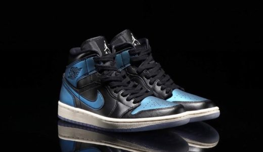 "【Nike】Air Jordan 1 Mid ""Iridescent Black""が国内8月1日に発売予定"