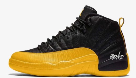 "【Nike】Air Jordan 12 Retro ""University Gold"" が2020年7月に発売予定"