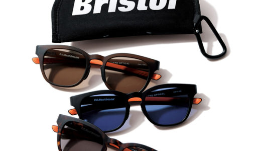 【F.C.Real Bristol × 金子眼鏡店】最新コラボアイテムが8月17日/8月19日に発売予定