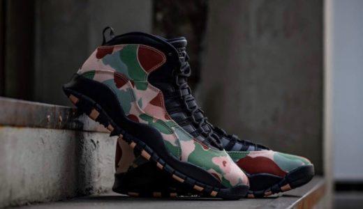 "【Nike】Air Jordan 10 Retro ""Desert Camo ""が国内9月5日に発売予定"