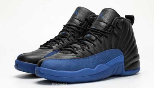 "【Nike】Air Jordan 12 Retro ""GameRoyal""が国内9月28日に発売予定"