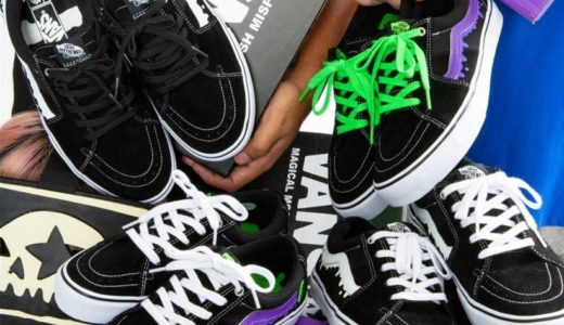 "【VANS × MxMxM】""MAGICAL MOSH SK8-LOW""が8月24日に発売予定"