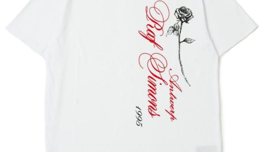 【Ron Herman × Raf Simons】日本上陸10周年記念別注Tシャツが8月31日より発売予定