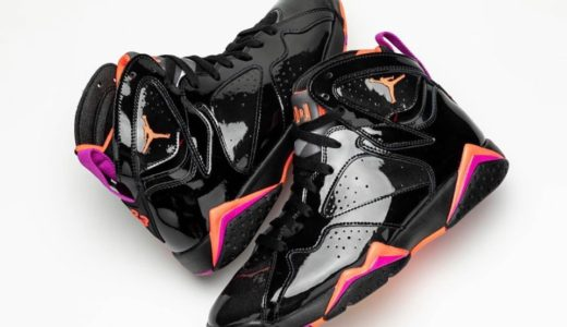 "【Nike】Air Jordan 7 Retro ""Black Patent Leather""が国内10月31日に発売予定"