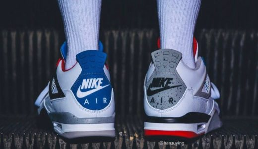 "【Nike】30周年記念モデル Air Jordan 4 Retro SE ""What The"" が11月23日に発売予定"