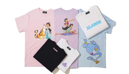 【XLARGE®︎ × アラジン】コラボTシャツコレクションが8月10日に発売予定