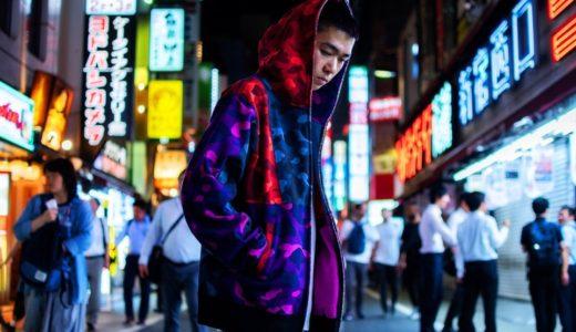 【BAPE®︎】クレイジーカラーのカモ柄フーディーが9月21日に発売予定