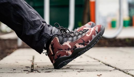 "【Nike】Air Jordan 10 Retro ""Woodland Camo""が国内9月7日に発売予定"
