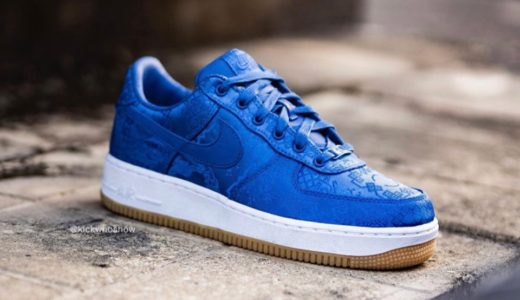 "【Nike × CLOT】Air Force 1 ""Royale University Blue Silk""が10月18日より発売予定"