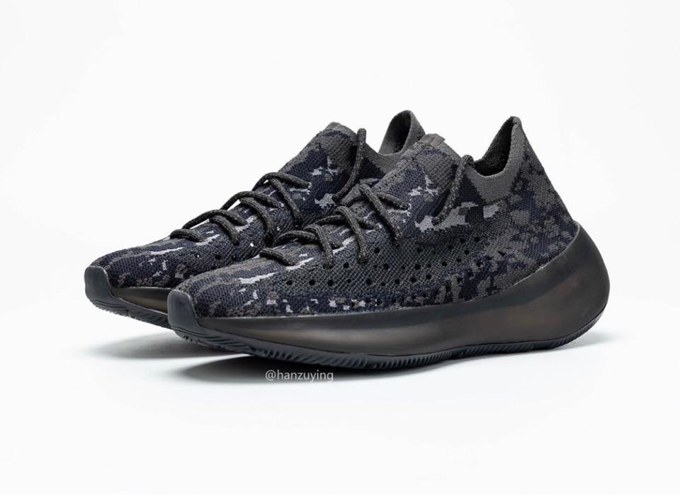 "adidas】新型YEEZY BOOST 350 V3 ""Black""が"