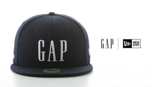 【New Era®︎ × GAP】創業50周年を記念したコラボキャップが9月24日に発売予定