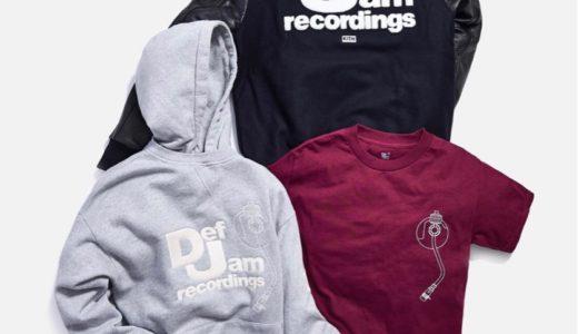 【KITH × Def Jam Recordings】MONDAY PROGRAM 9月16日に発売予定