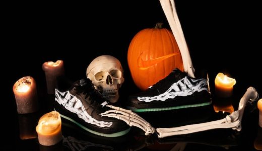 "【Nike】Air Force 1 Low '07 ""Skeleton Black""が国内10月25日に発売予定"