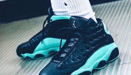 "【Nike】Air Jordan 13 Retro ""Island Green""が国内11月9日に発売予定"