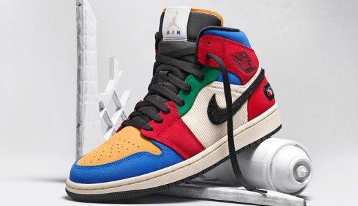 "【Blue The Great × Nike】Air Jordan 1 Mid ""Fearless""が国内11月16日に発売予定"