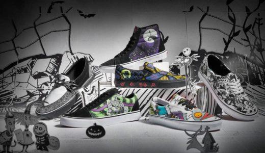 【The Nightmare Before Christmas × Vans 】最新コラボコレクションが国内10月4日に発売予定