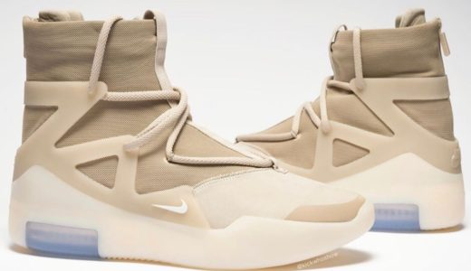 "【Nike × Fear of God】Air Fear of God 1 ""Oatmeal""が11月2日に発売予定"