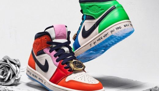 """【Melody Ehsani × Nike】Air Jordan 1 Mid WMNS """"Fearless""""が国内11月15日に発売予定"""