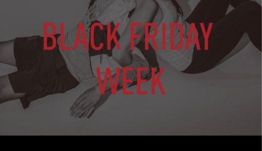 【セール情報】ReebokオンラインにてBLACK FRIDAY WEEKが12月2日まで開催
