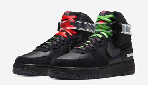 【Lauren Halsey × Nike】Air Force 1 High '07 LEが12月7日に発売予定
