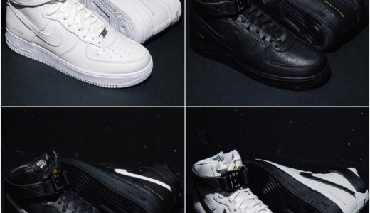 【1017 ALYX 9SM × Nike】Air Force 1 Hiが2020年10月24日に発売予定