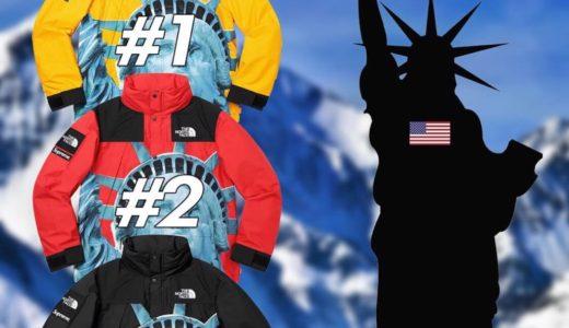 【Supreme】2019FW WEEK10 US アメリカでの完売タイムランキングが公開