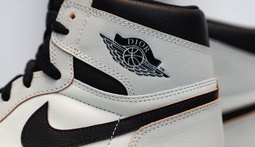 【Dior × Nike】コラボAir Jordan 1 Highが2020年6月に発売予定か