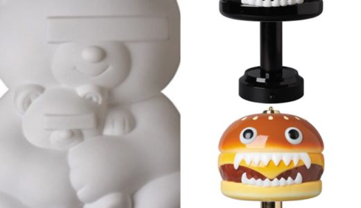 【UNDERCOVER】BEAR & HAMBURGER LAMPが11月22日/11月23日に再販売予定
